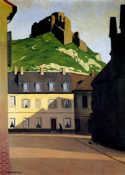 The Strong Castle and the place of Andelys, 1924 - Felix Vallotton