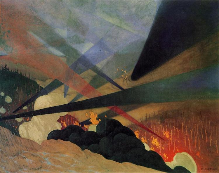 Verdun, 1917 - Félix Vallotton