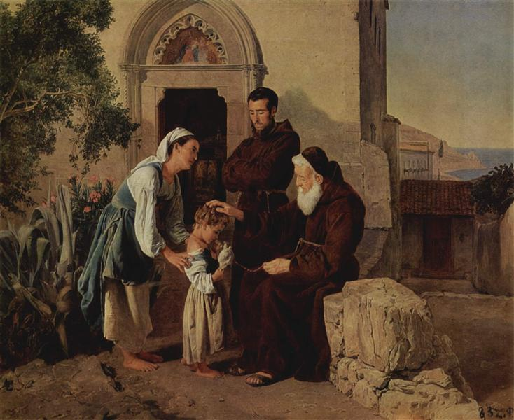 Am Klostertor, 1846 - Ferdinand Georg Waldmüller