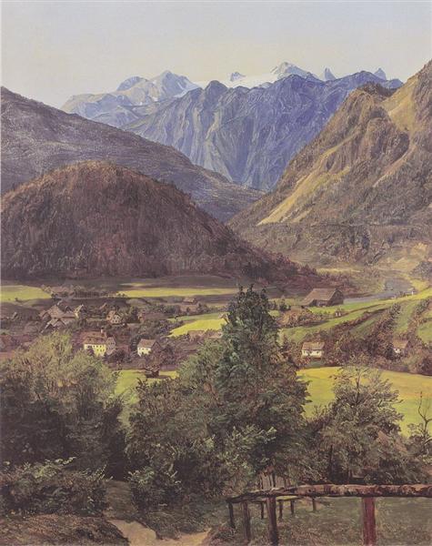 The Dachstein, 1835 - Ferdinand Georg Waldmüller