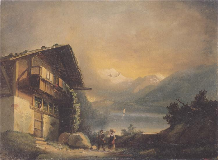 Charlet in Hilterfingen, 1871 - Ferdinand Hodler