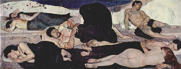 Night - Ferdinand Hodler