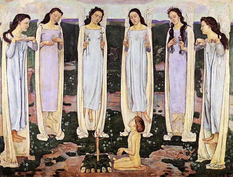 The Consecrated One, 1903 - Ferdinand Hodler