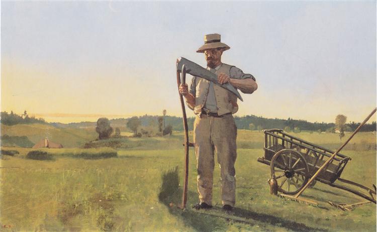 The Reaper, c.1878 - Ferdinand Hodler
