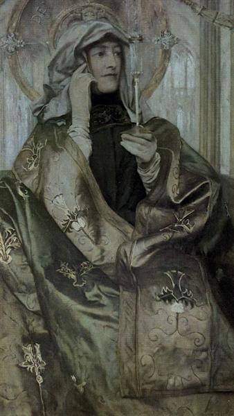 Incens, 1898 - Фернан Кнопф
