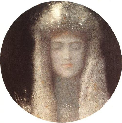 The Silver Tiara, 1911 - Фернан Кнопф