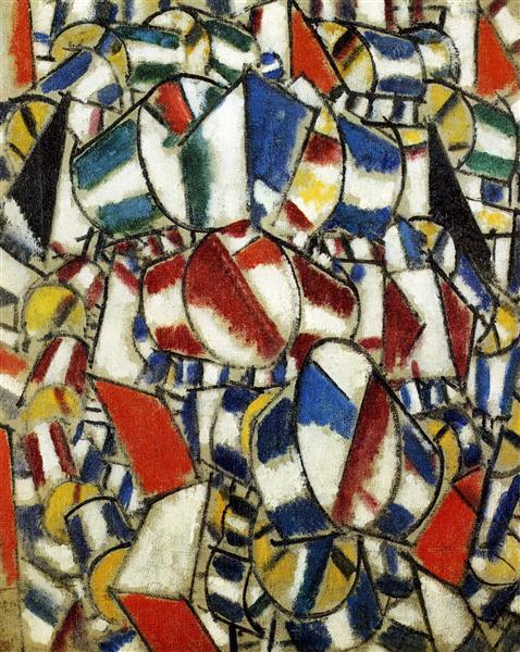 Contrast of Forms, 1913 - Fernand Leger