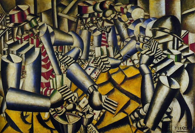 The part of Chart, 1917 - Fernand Leger
