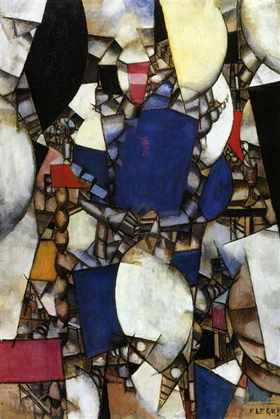 The Woman in Blue, 1912 - Fernand Leger