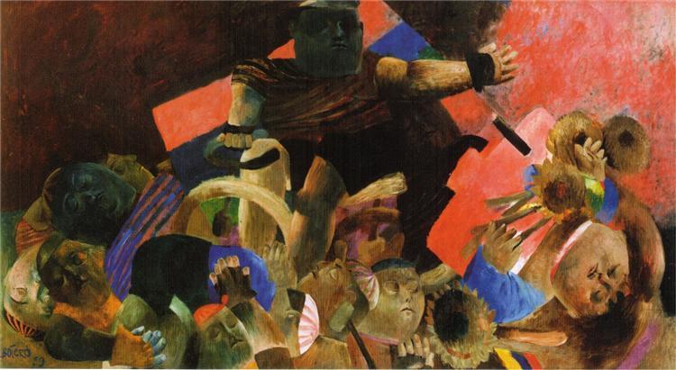 The Apotheosis of Ramon Hoyos, 1959 - Fernando Botero