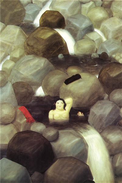 The Cascade, 1982 - Fernando Botero