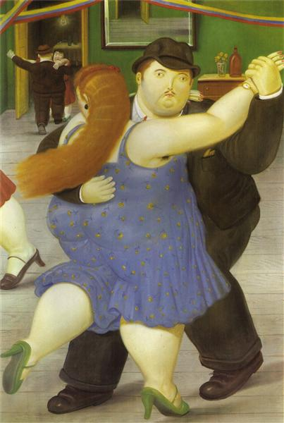 The Dancers, 1987 - Fernando Botero