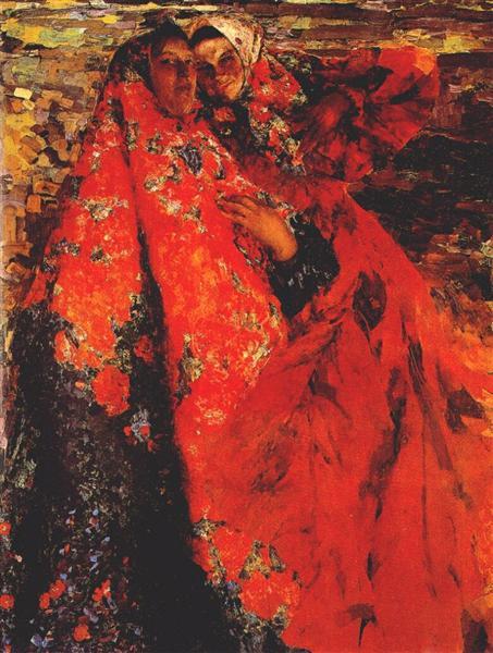 A Peasant Women, 1904 - Filipp Malyavin