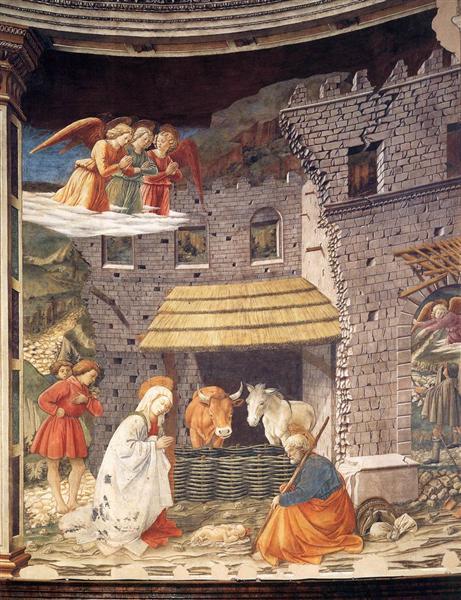 Nativity, 1467 - 1469 - Filippo Lippi
