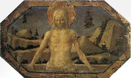 Pietà, c.1432 - Filippo Lippi