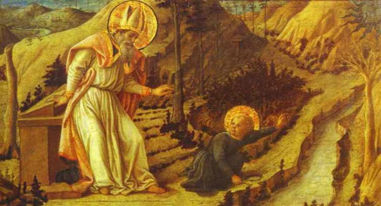 The Vision of St. Augustine, 1465 - Filippo Lippi
