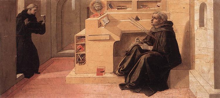 Vision of St. Augustine, 1438 - Filippo Lippi