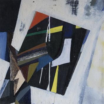 Abstract composition, 1965 - Florin Maxa
