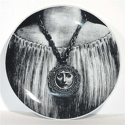 Theme & Variations Plate #206 - Fornasetti