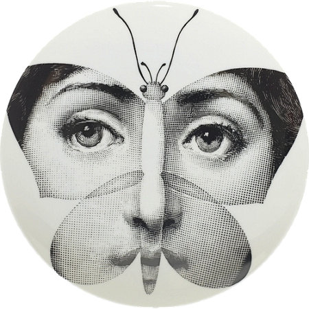 Theme & Variations Plate #96 (Butterfly) - Fornasetti