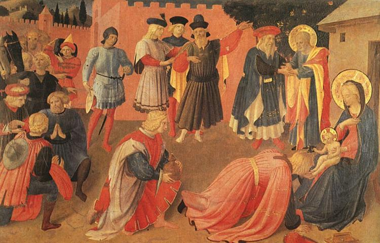 Adoration of the Magi, c.1433 - Fra Angelico