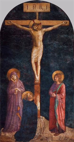 Crucifixion with St. Dominic, 1440 - 1445 - Fra Angelico