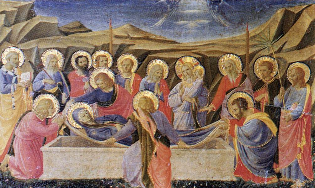 the death of the virgin c 1310 giotto wikiart org