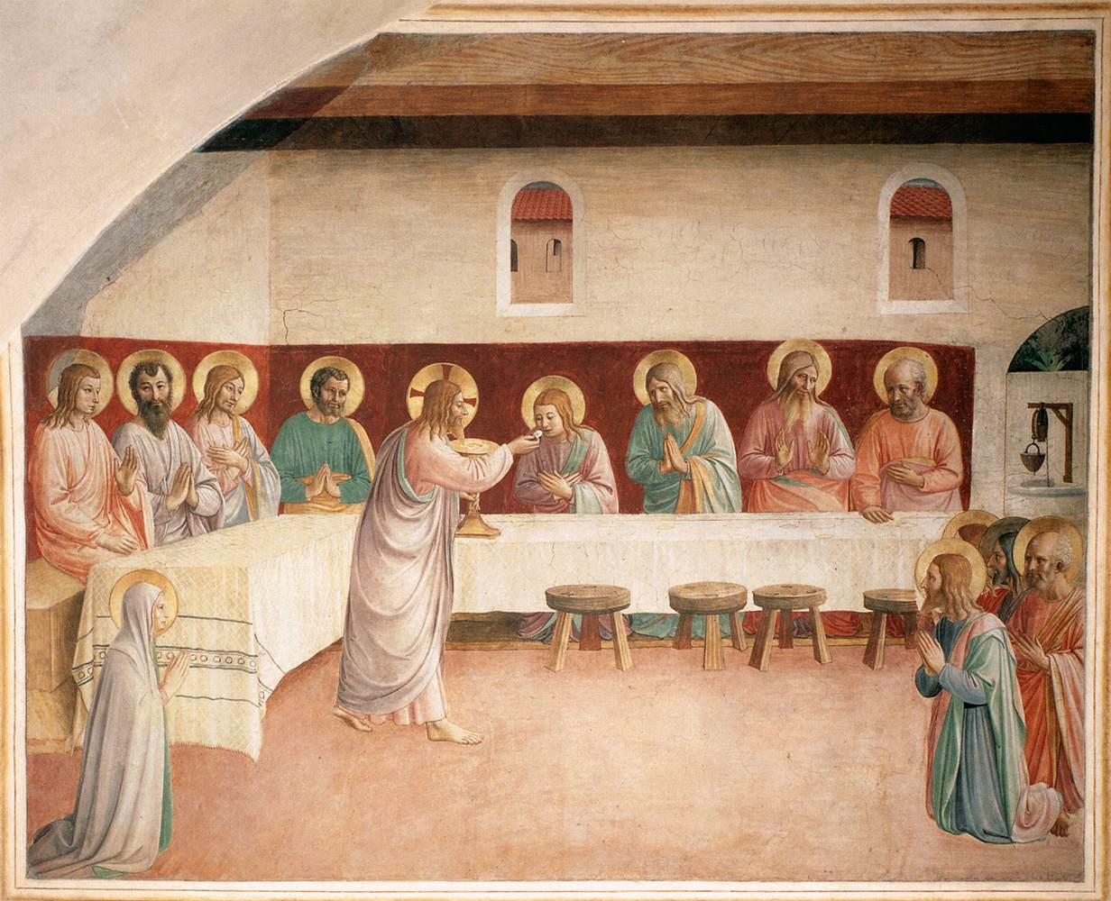 http://uploads7.wikipaintings.org/images/fra-angelico/institution-of-the-eucharist-1442.jpg