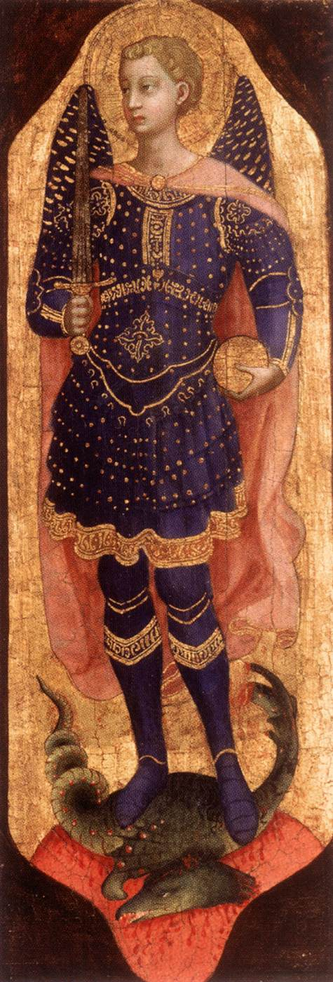 St. Michael, 1423-1424 - Fra Angelico - WikiArt.org ...