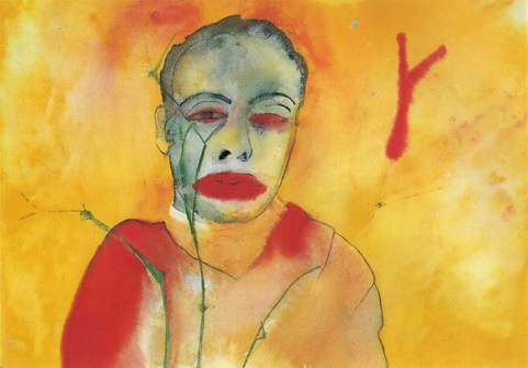 Fire, 1982 - Francesco Clemente