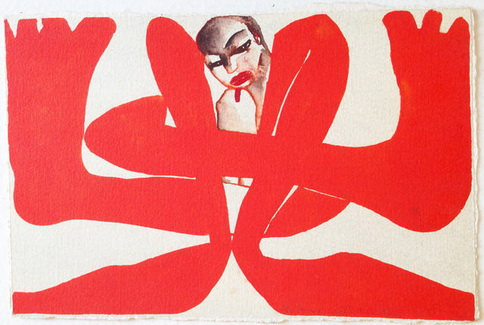 Untitled Self Portrait, 1993 - Francesco Clemente