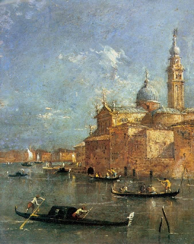 Francesco Guardi: San Giorgio Maggiore