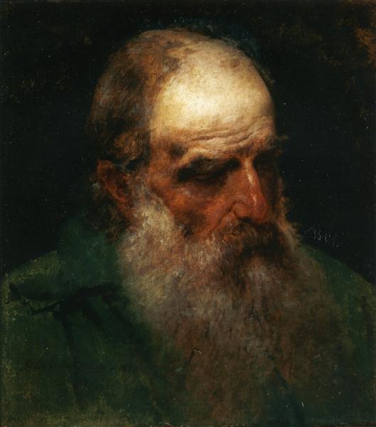 Self-Portrait, 1878 - Francesco Hayez