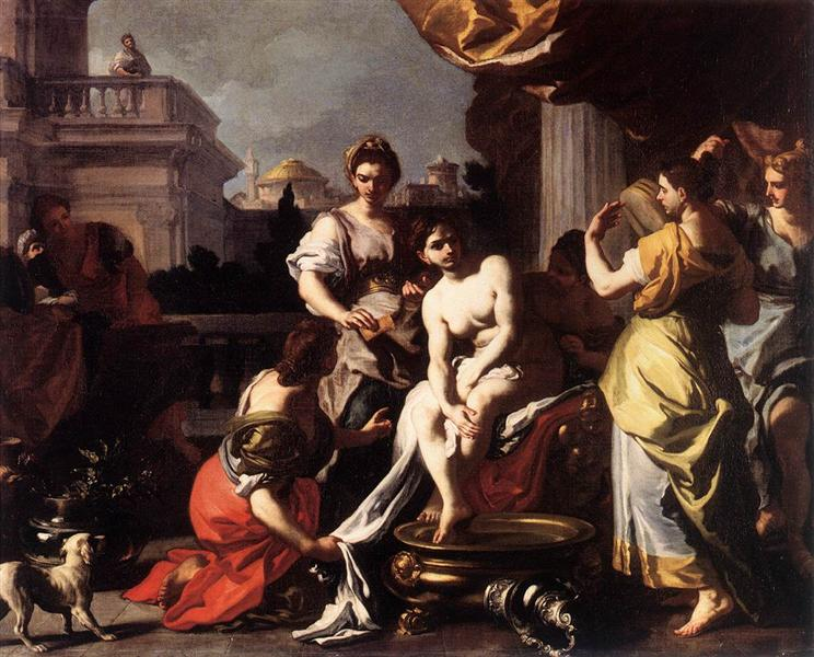 Bathsheba Bathing, c.1725 - Francesco Solimena
