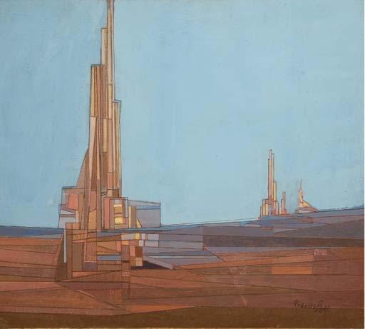 Cathédrale, 1975 - Francis Bott