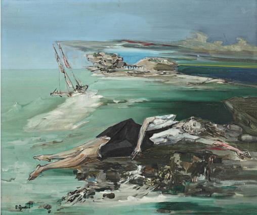 La noyée - Francis Gruber