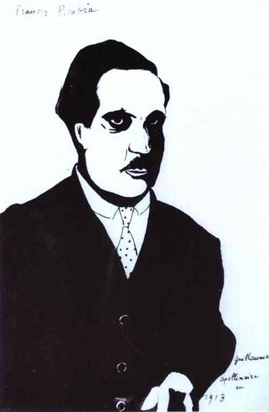 Guillaume Apollinaire in 1913, c.1920 - c.1930 - Francis Picabia