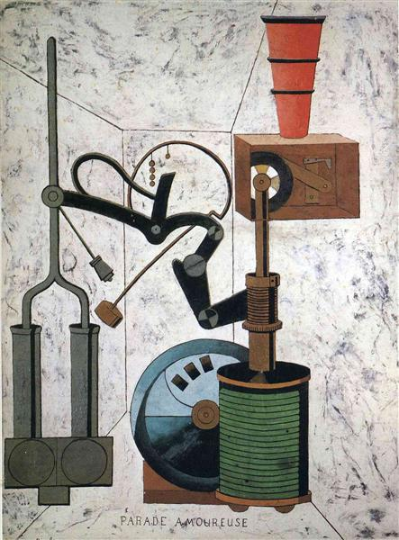 Love Parade, 1917 - Francis Picabia