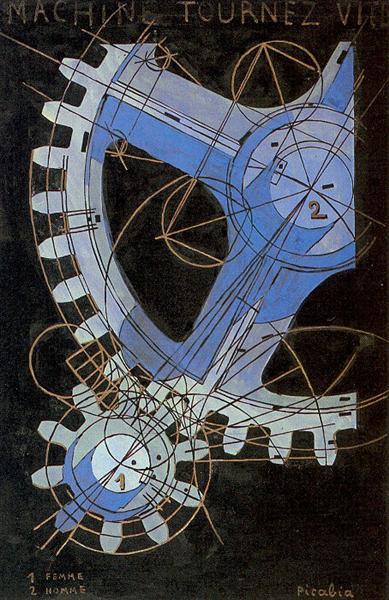 Machine Turn Quickly, 1917 - Франсис Пикабиа
