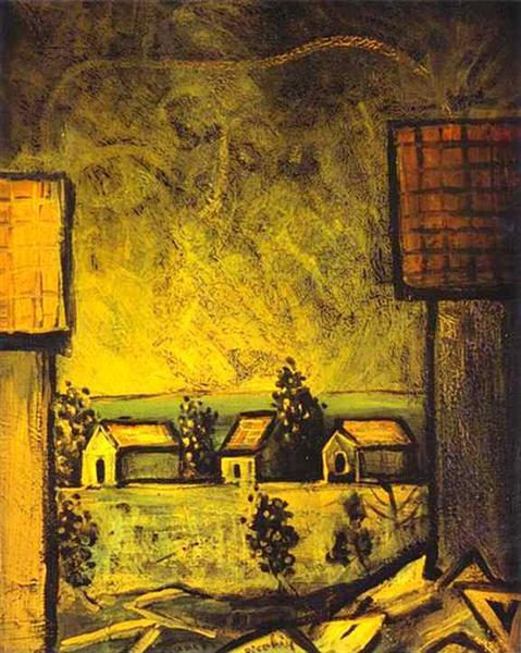 Provincial Landscape, c.1937 - c.1938 - Francis Picabia