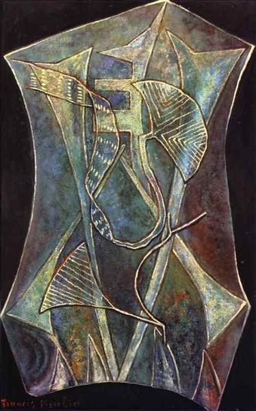The Joy in Blindness, 1947 - Francis Picabia