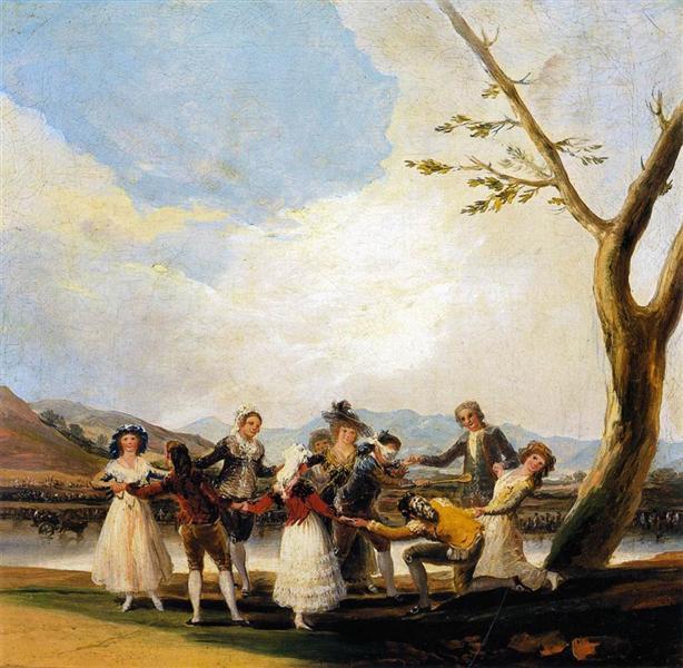 Blind Man's Buff, 1788 - 1789 - Francisco Goya