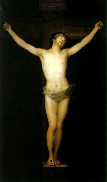Crucified Christ, 1780 - Francisco Goya