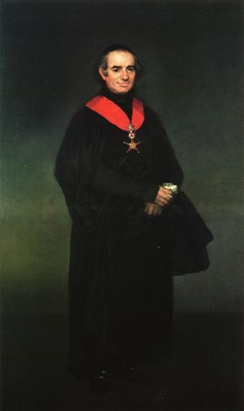 Juan Antonio Llorente, c.1810 - c.1812 - Francisco de Goya