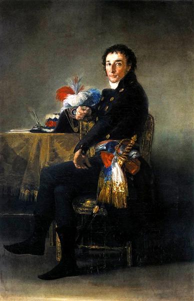 Portrait of Ferdinand Guillemardet, 1798 - Франсіско-Хосе де Гойя