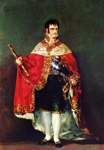 Portrait of Ferdinand VII, 1814 - Francisco Goya