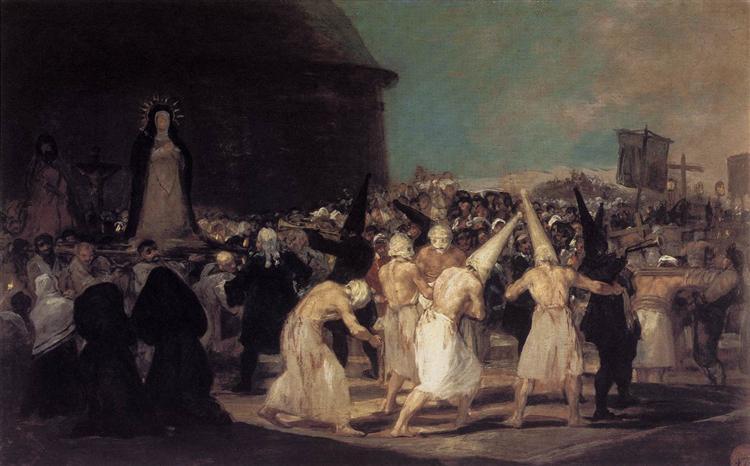 Procession of Flagellants, 1793 - Francisco Goya