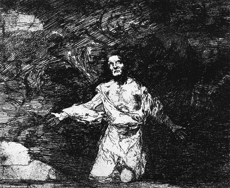 Sad forebodings of what is to come, 1810 - Francisco Goya