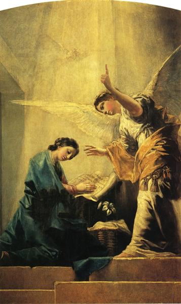 The Annunciation, 1785 - Francisco Goya
