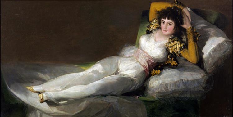 The Clothed Maja, 1800 - Francisco Goya